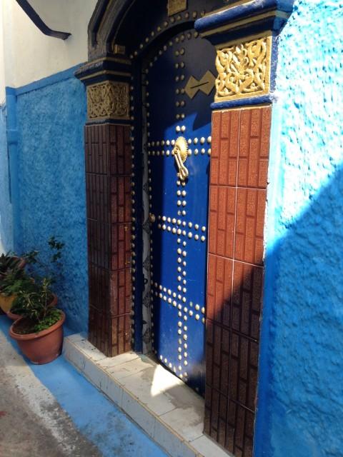 Kasbah door