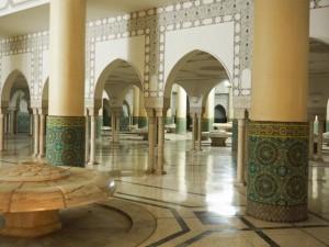Hassan II Mosque Washing Area
