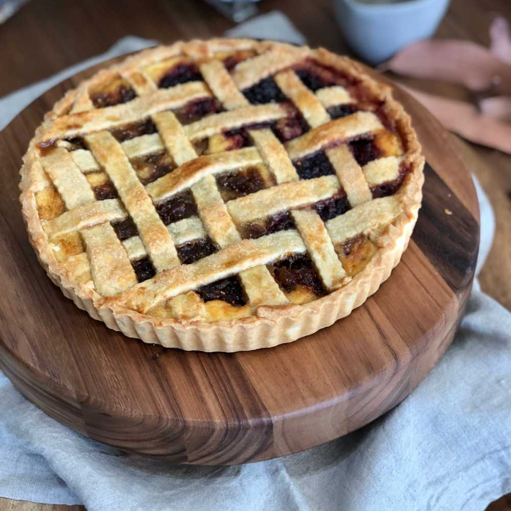 Ricotta & Jam crostata, recipe, Kitchen to Table, Yamba