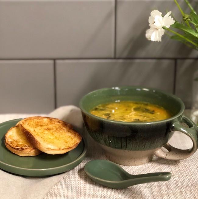 Chicken lentil vegetable soup