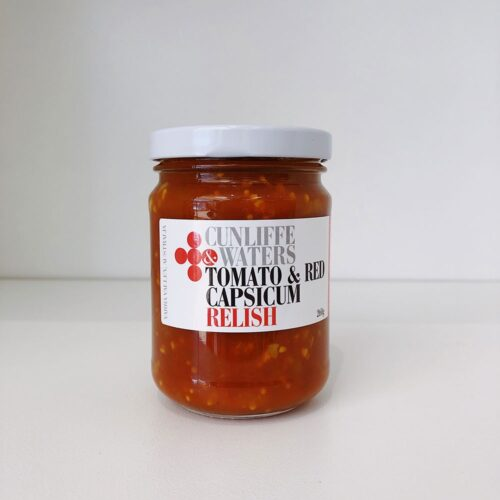 Cunliffe & Waters Tomato & Capsicum Relish, Kitchen to Table, Yamba