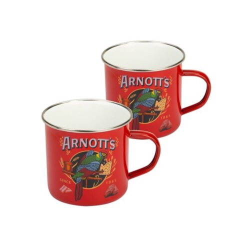Arnotts Enamel Mug Set, Kitchen to Table, Yamba