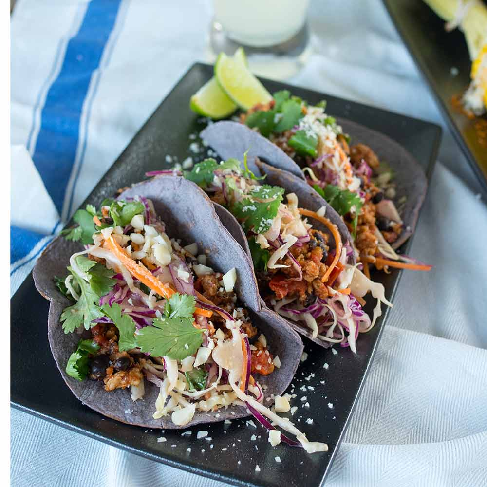 Turkey and black bean tacos, Kitchen to Table, Yamba