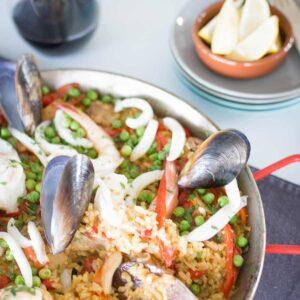 Paella recipe, Kitchen to Table, Yamba