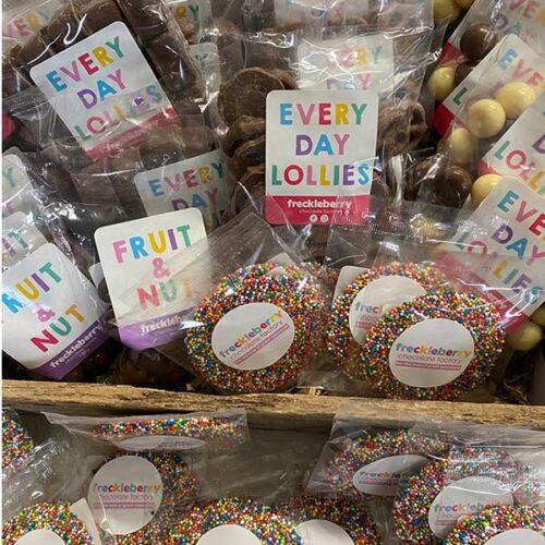 Freckleberry chocolates