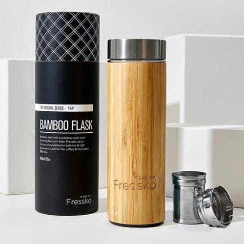 Fressko Bamboo flask 450ml, Kitchen to Table, Yamba