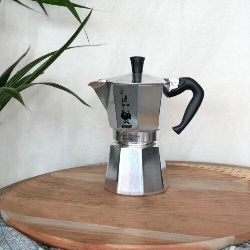 Bialetti Moka Stovetop Coffee Maker, 4 cup, Kitchen to Table, Yamba