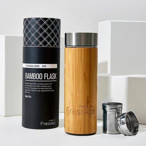 Fressko Bamboo flask 300ml, Kitchen to Table, Yamba
