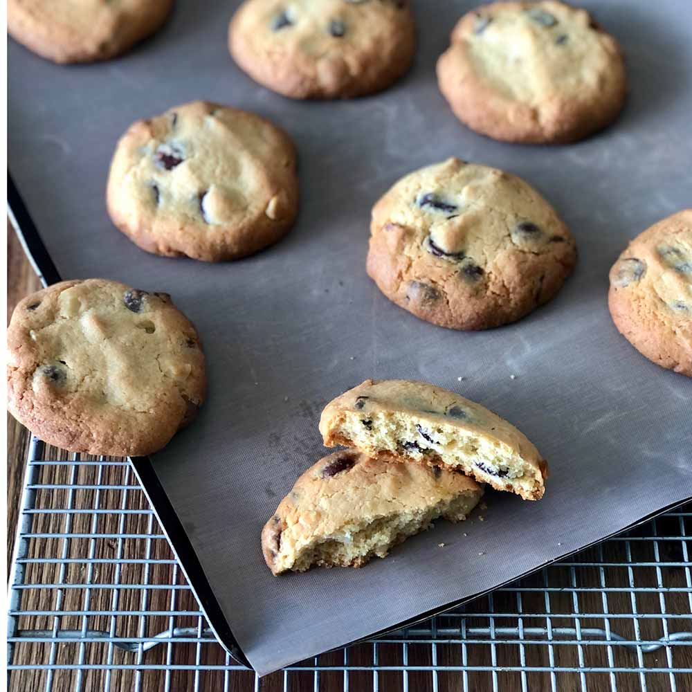 Chocolate Macadamia biscuits, recipe, kitchen to table, yamba