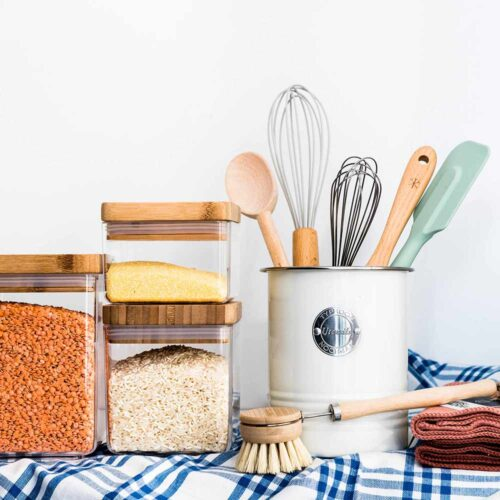 Cleaning, organisation & storage