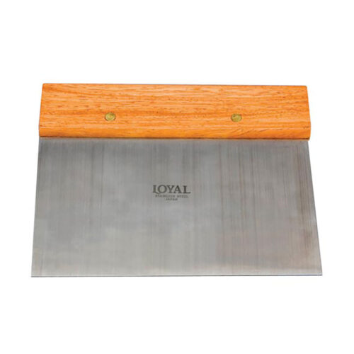 Loyal bench scraper with wood handle, Kitchen to Table, Yamba