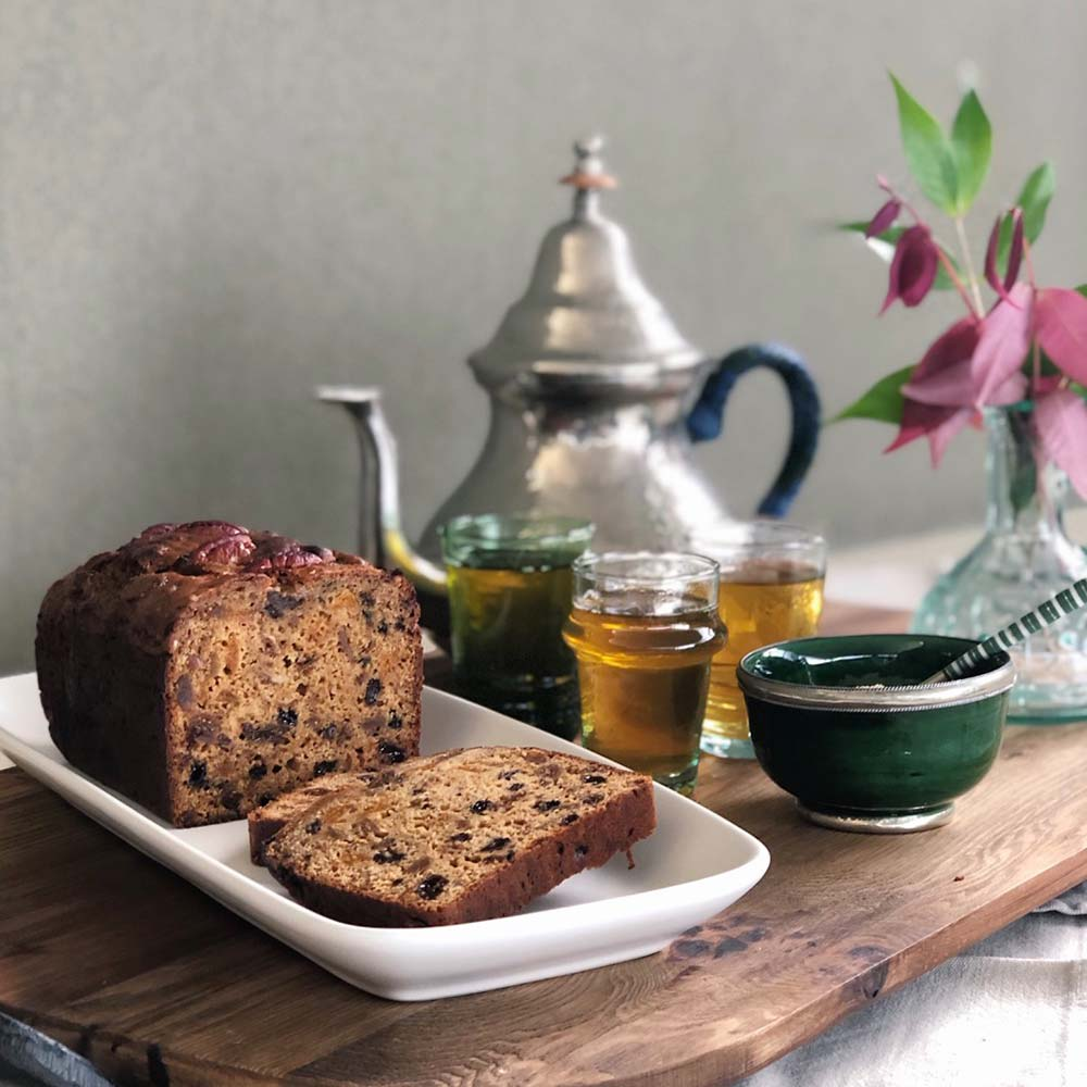 Moroccan fruit loaf, Kitchen to Table, Yamba