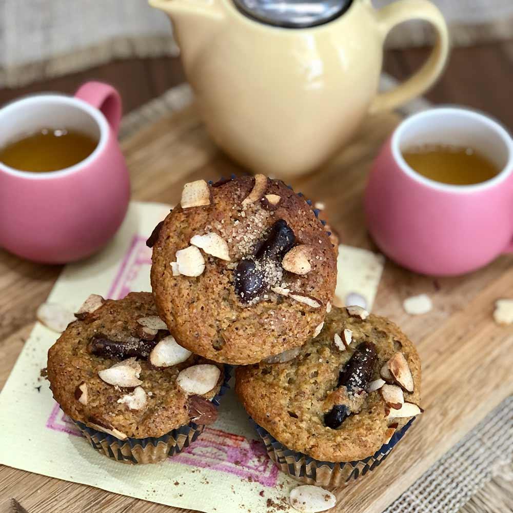 Orange, banana and date muffins, baking recipe, Kitchen to Table, Yamba